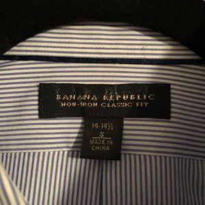 Banana Republic Shirts - Banana Republic non-iron classic fit button down